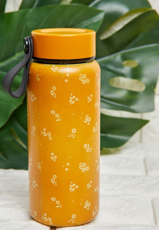 Mini Floral Water Bottle