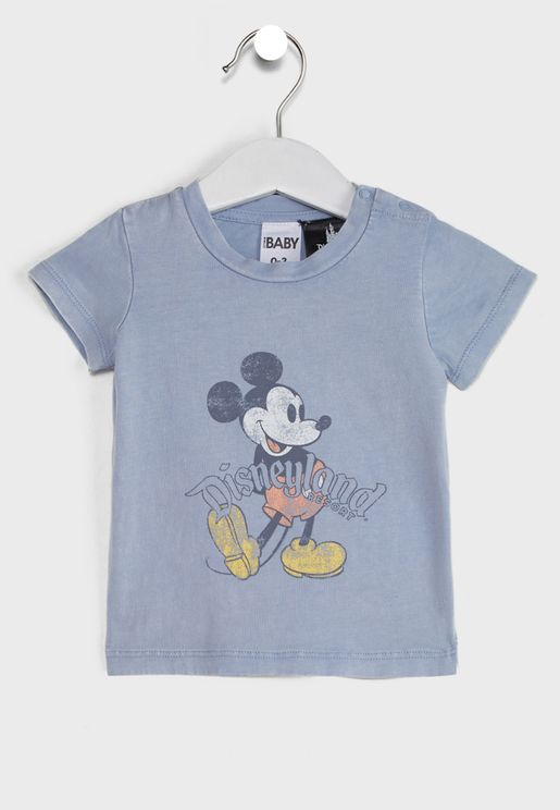 Infant Vintage Mickey Mouse T-Shirt