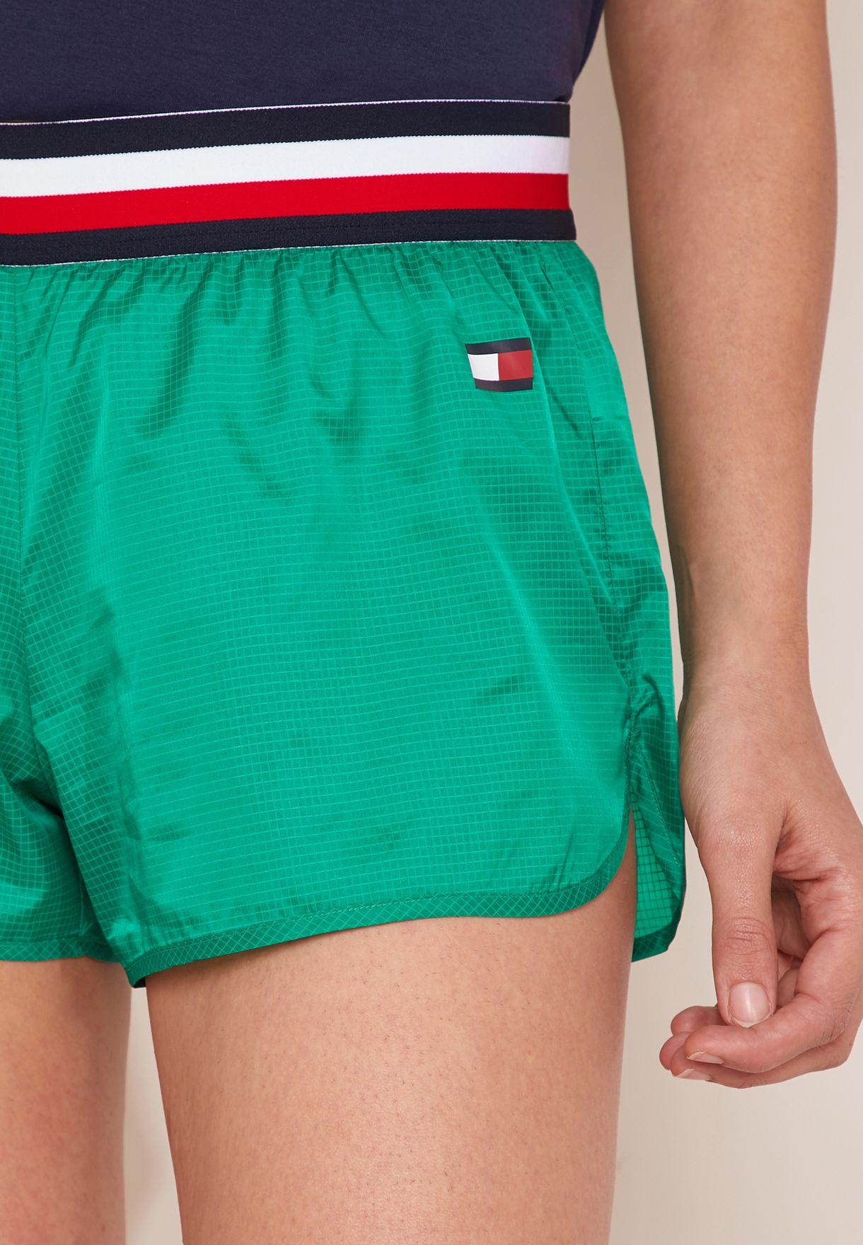Striped Waist Shorts