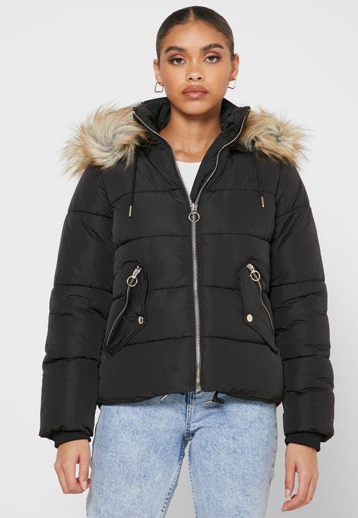 Topshop Petite Black Jacket