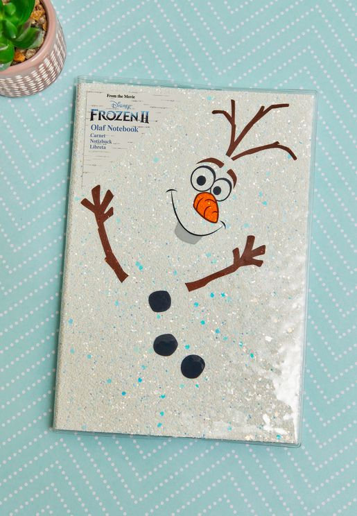 Frozen 2 Olaf Notebook