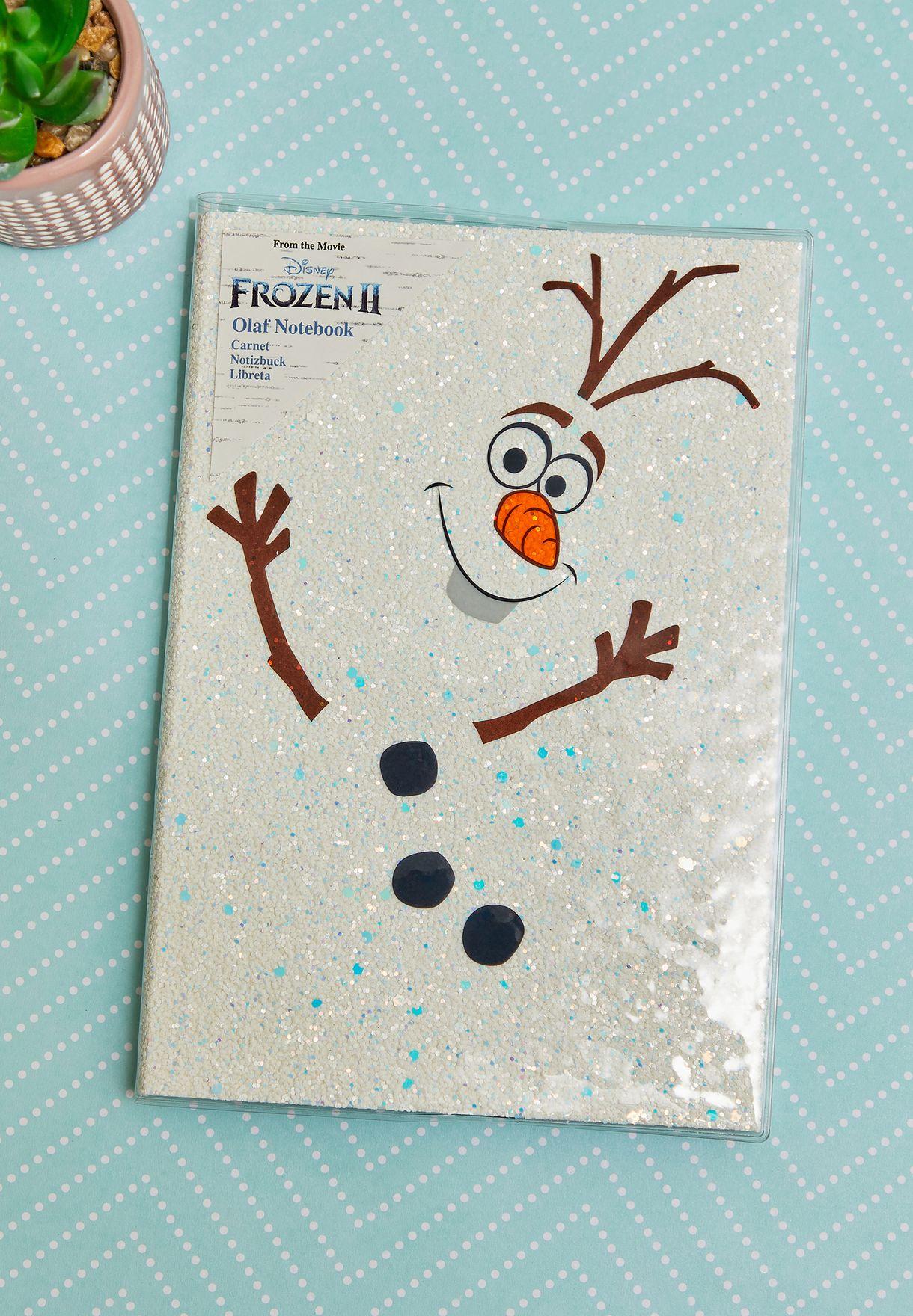 Frozen 2 Olaf Notebook
