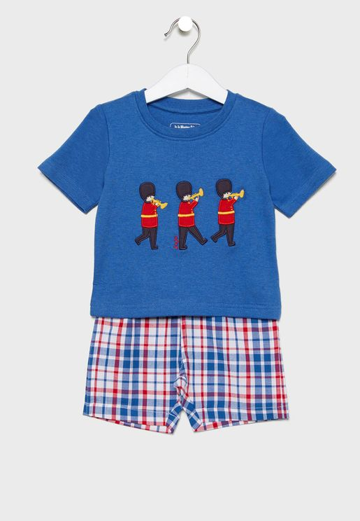 Kids Short Mix & Match Pyjama Set