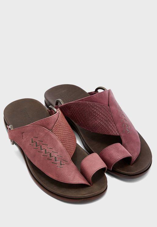 Ghaf Wide Strap Sandals