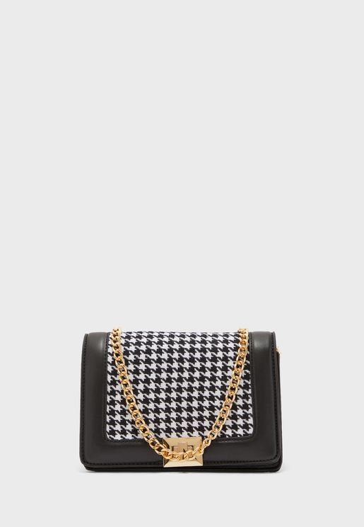 Lamelia Front Button Crossbody