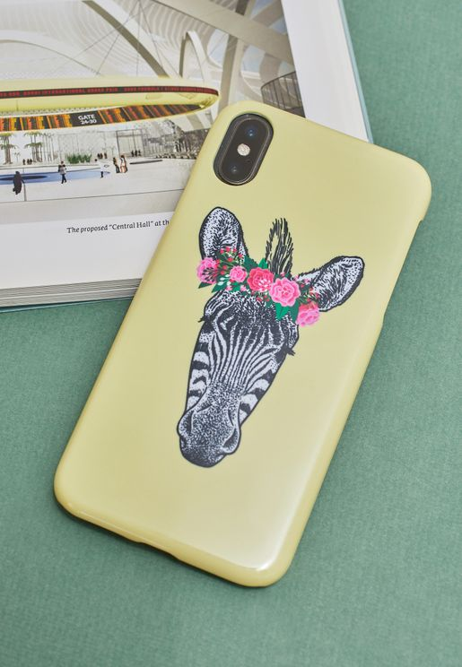 Zebra iPhone Case Multi Size