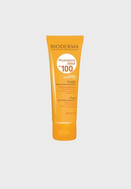 سائل فوتوديرم ماكس حماية من الشمس 100 - 40 مل