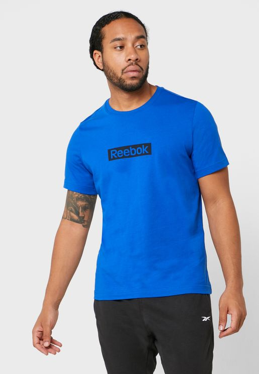 Training Essential Linear Logo T-Shirt