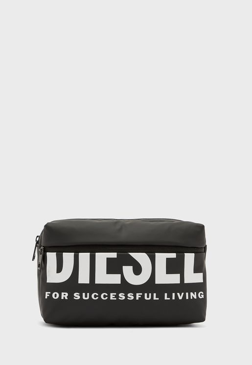 Logo Messenger Bag