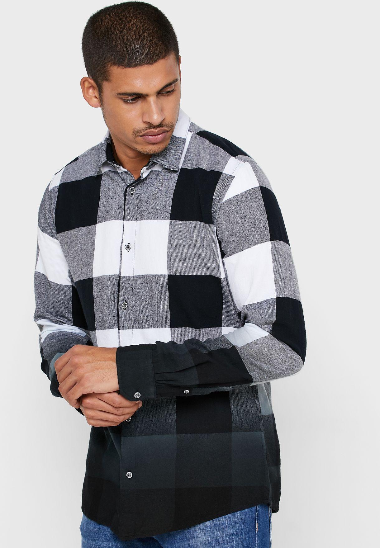 Freddy Dip Dye Checked Shirt