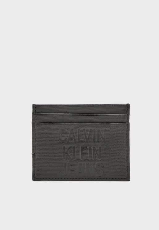 Coated Logo Card Holder