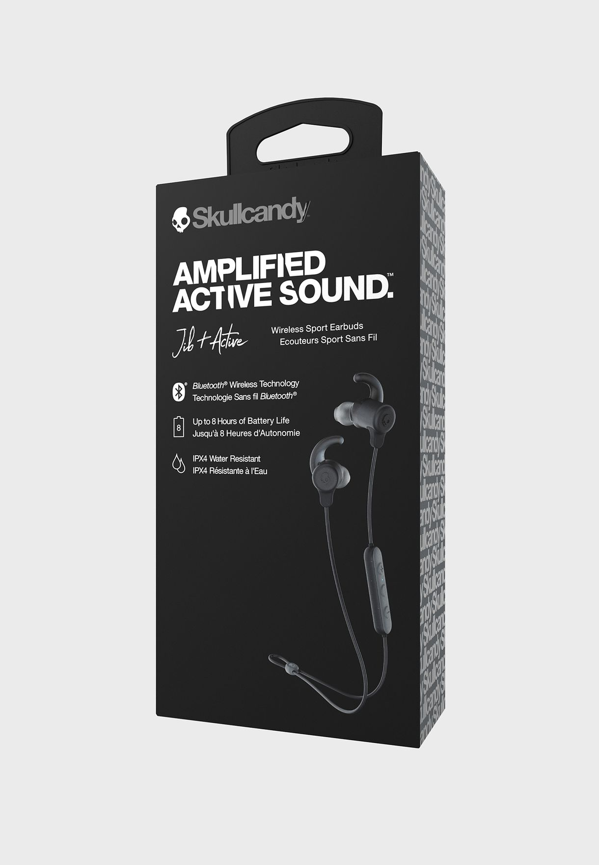 Jib+ Active Wireless In-Ear Earbuds With Microphone