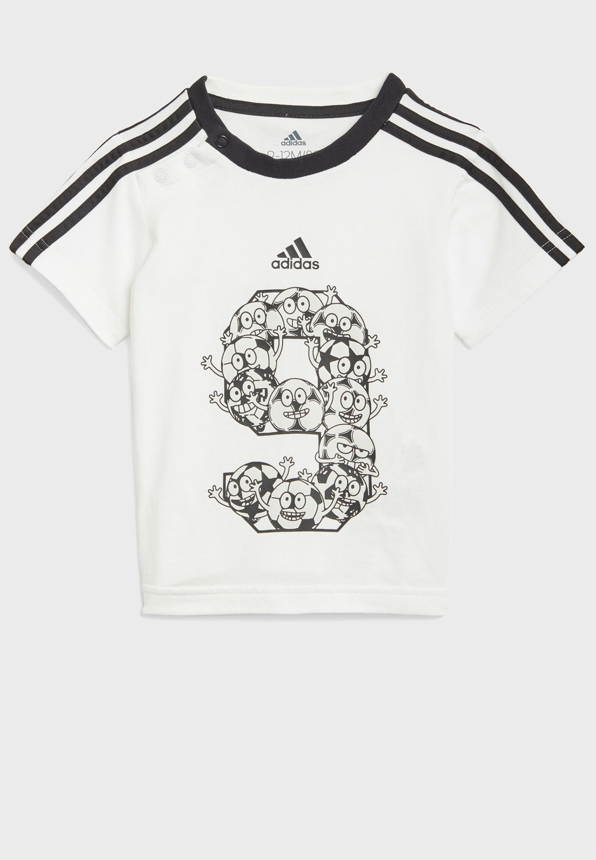 Infant 3 Stripe Summer Pack Set