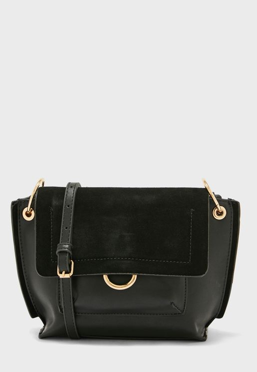 Upsala Ring Flap Over Crossbody
