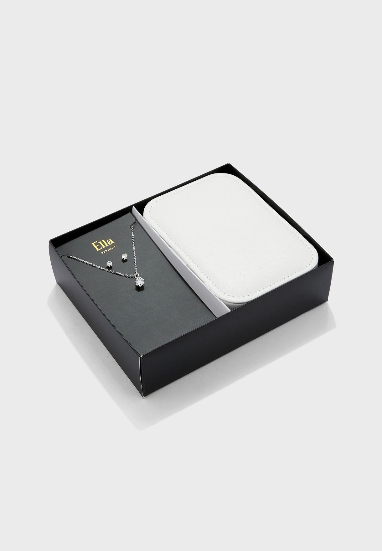 Jewellery Travel Case With Jewellery Set