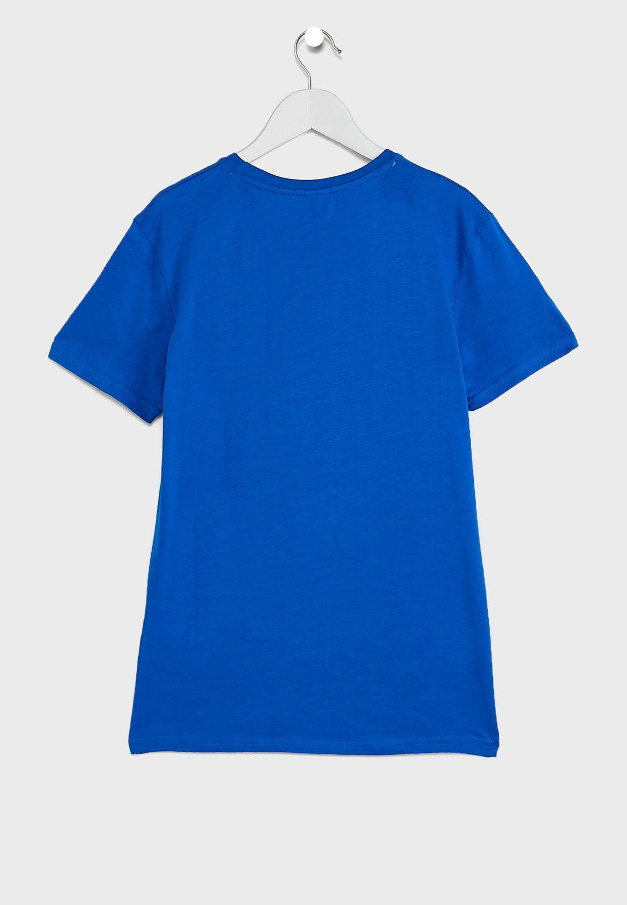 Kids Shark Zone T-Shirt & Shorts Set