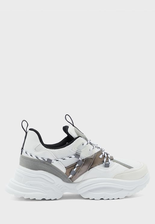 Panelled Chunky Sneaker