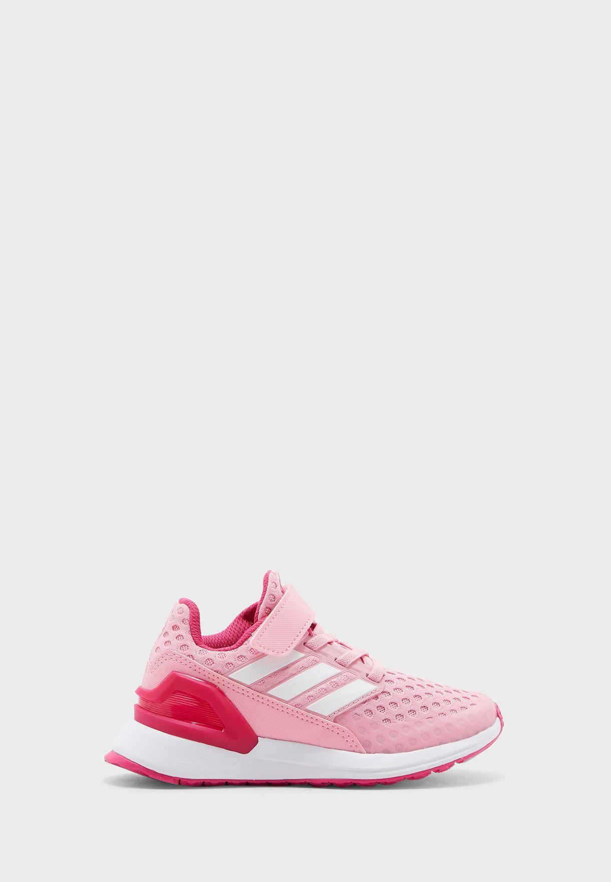 Buy adidas pink Kids Rapidarun EL for