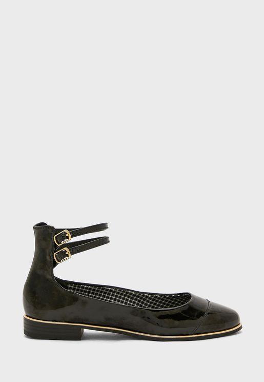 حذاء باليرينا بسير كاحل