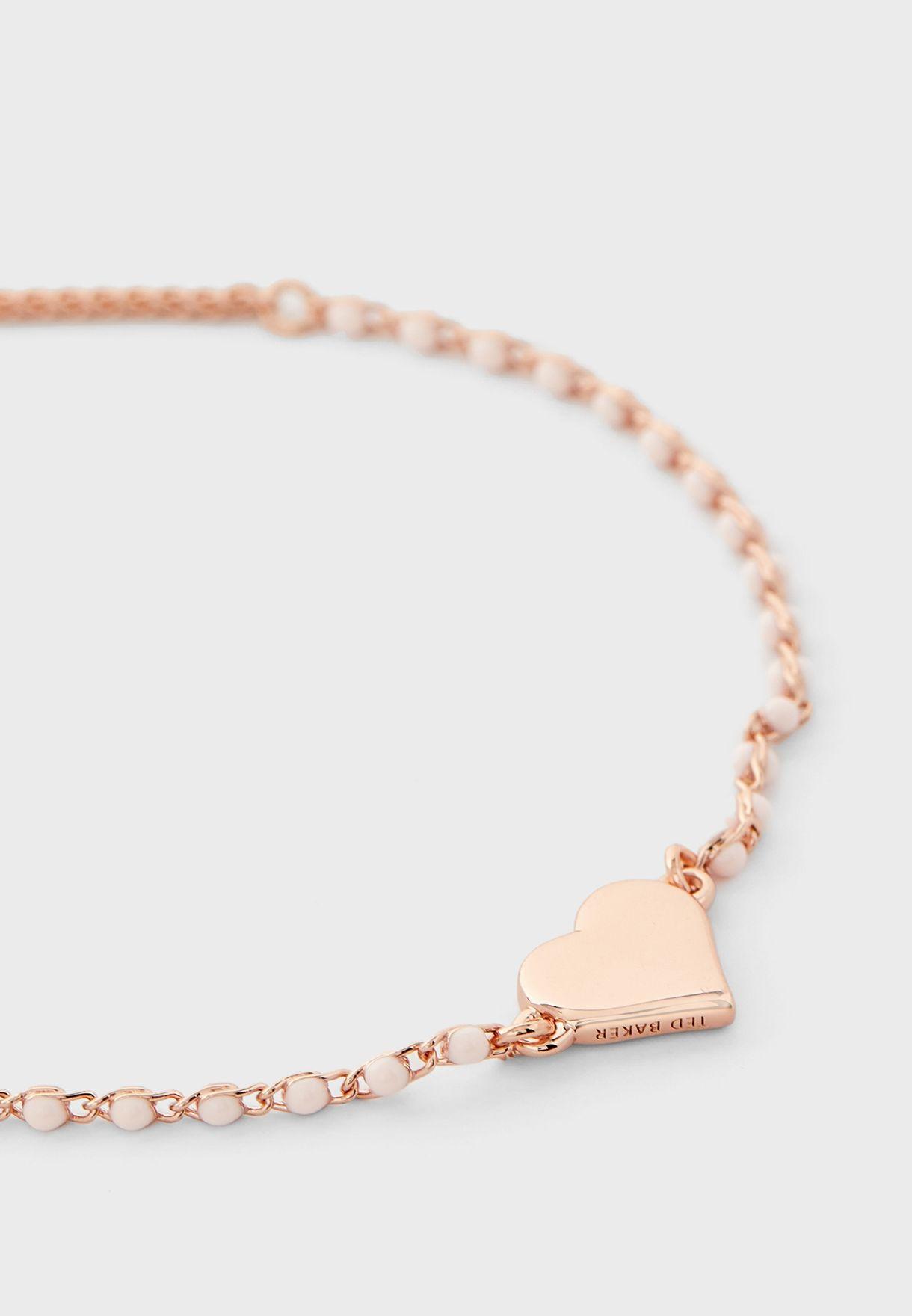 Rainbow Heart Bracelet