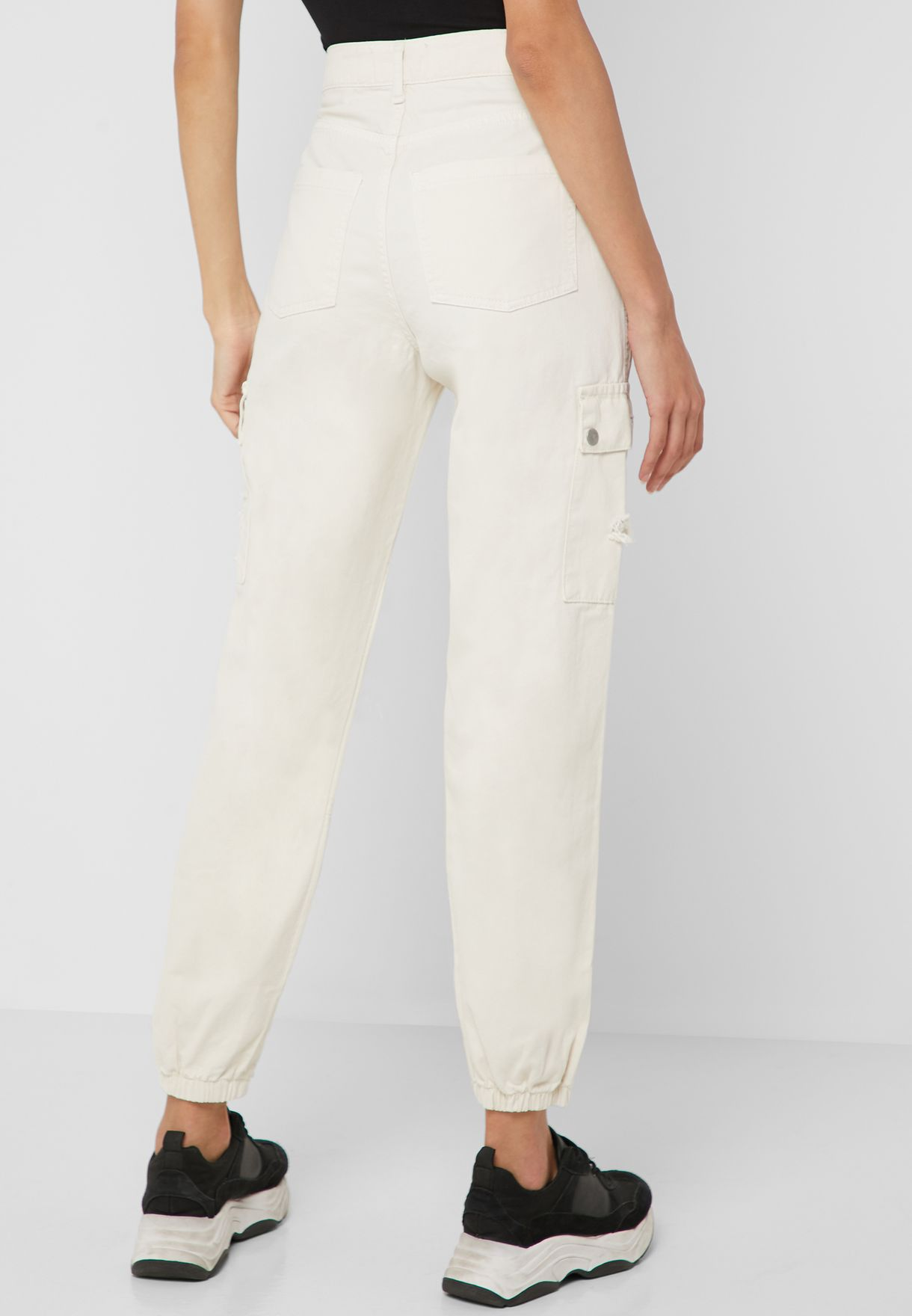 Ripped Cargo Pants