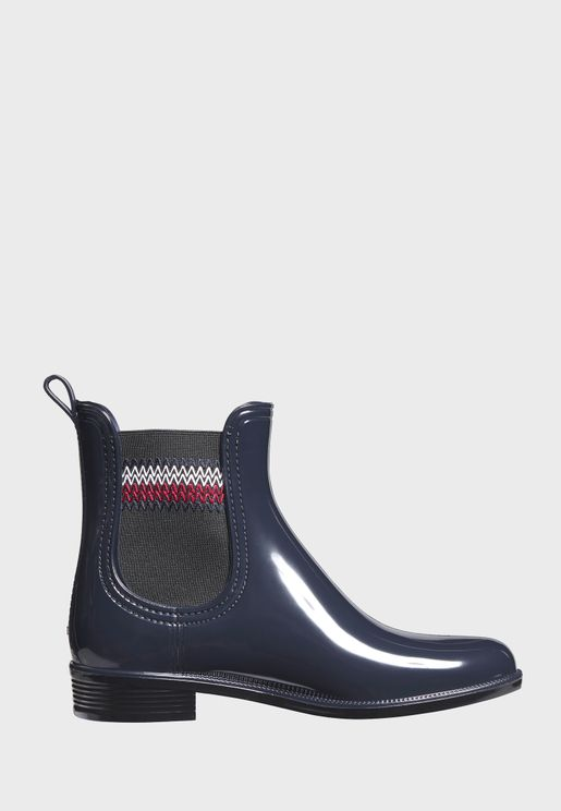 Corporate Elastic Ankle Boot