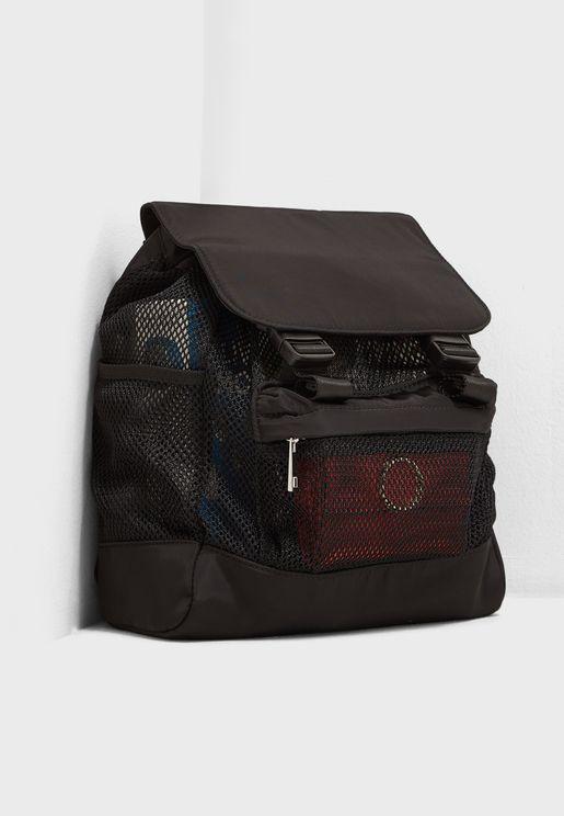 Sheer Mesh Backpack