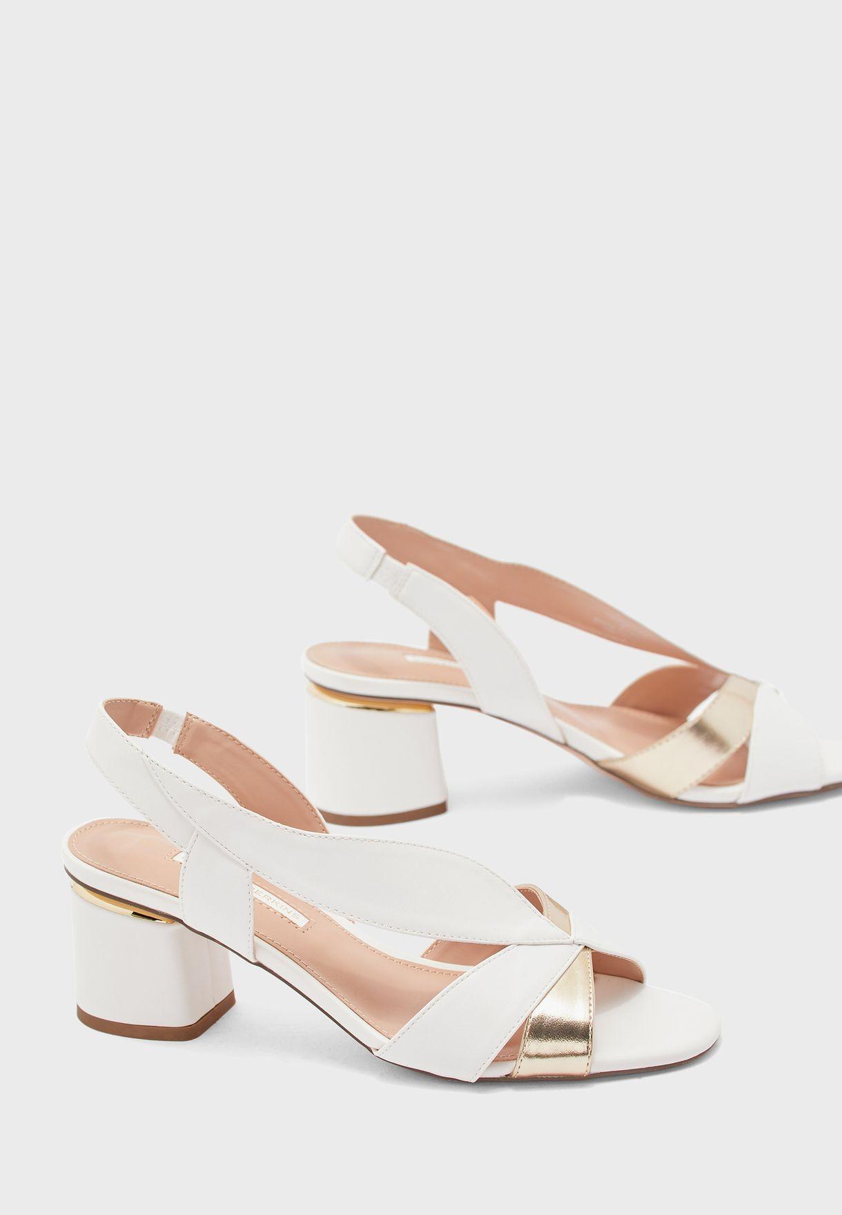 Swing Vintage Dorsay Block Heel Sandal