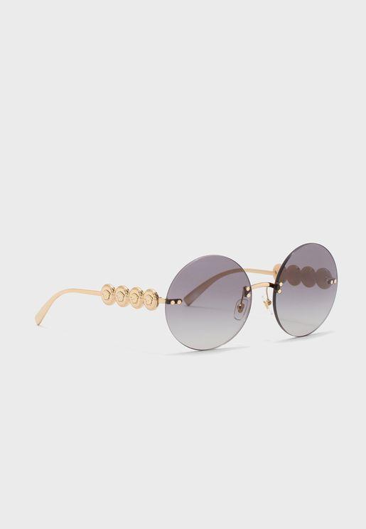 نظارة شمسية دائرية  0VE2214