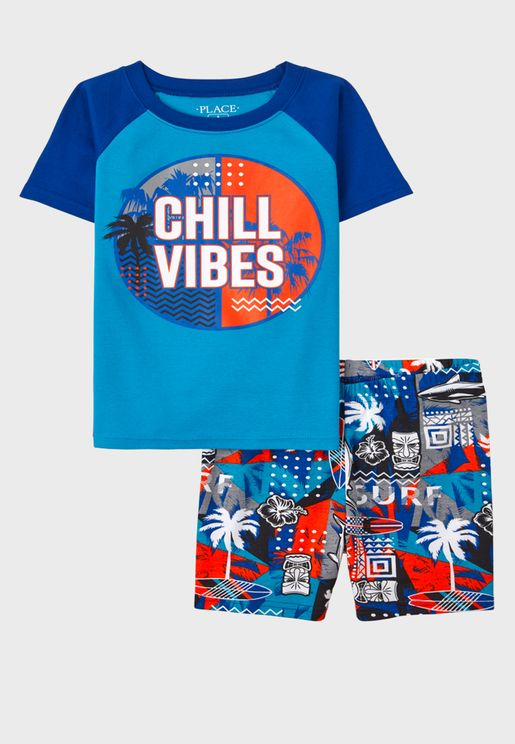 Kids Chill Vibes Pyjama Set