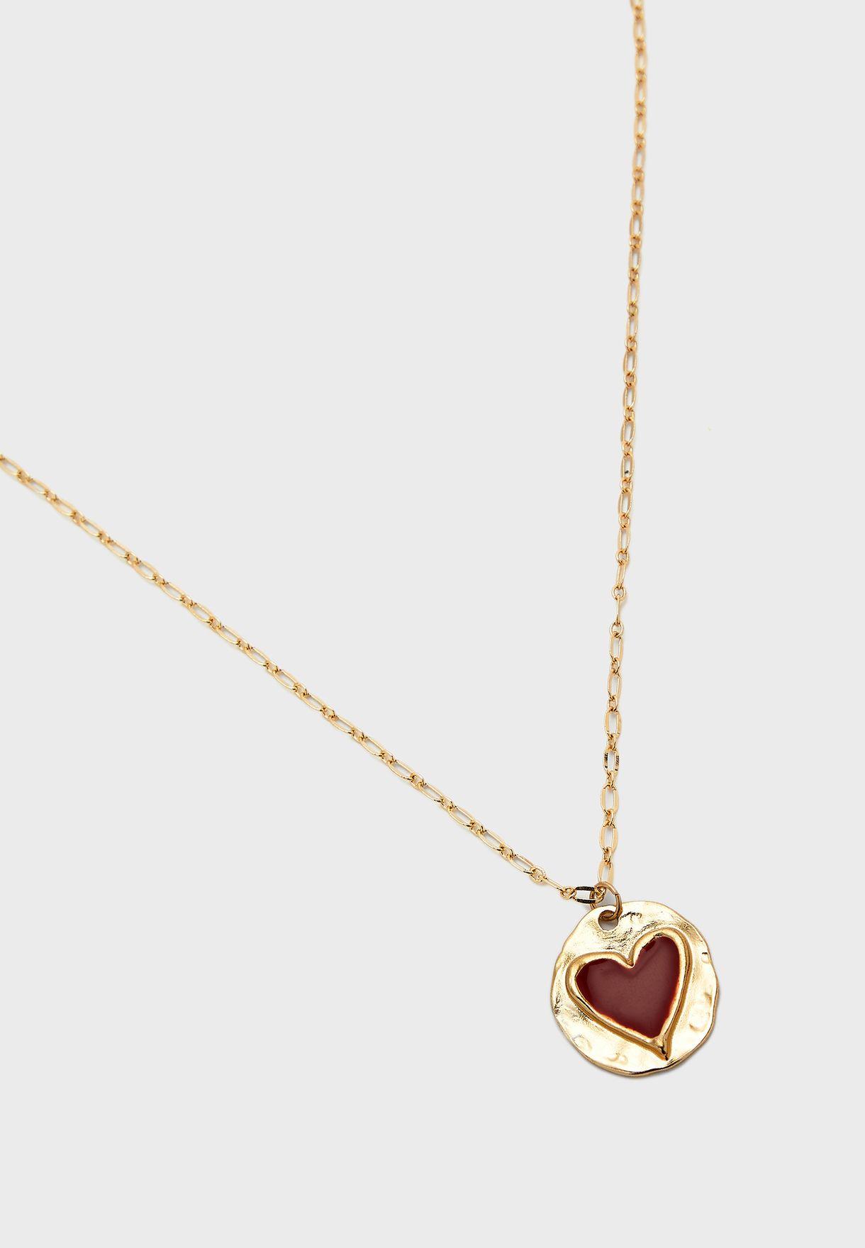 Heart Pendant Neklace
