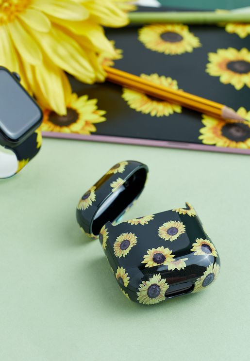 Sunflowers Airpods Case