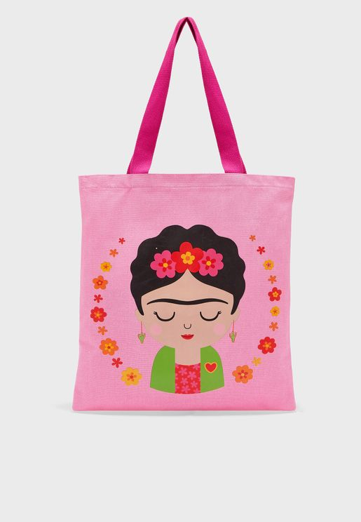 Kids Boho Fiesta Tote Bag