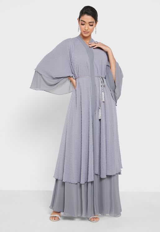 Dobby Textured Abaya