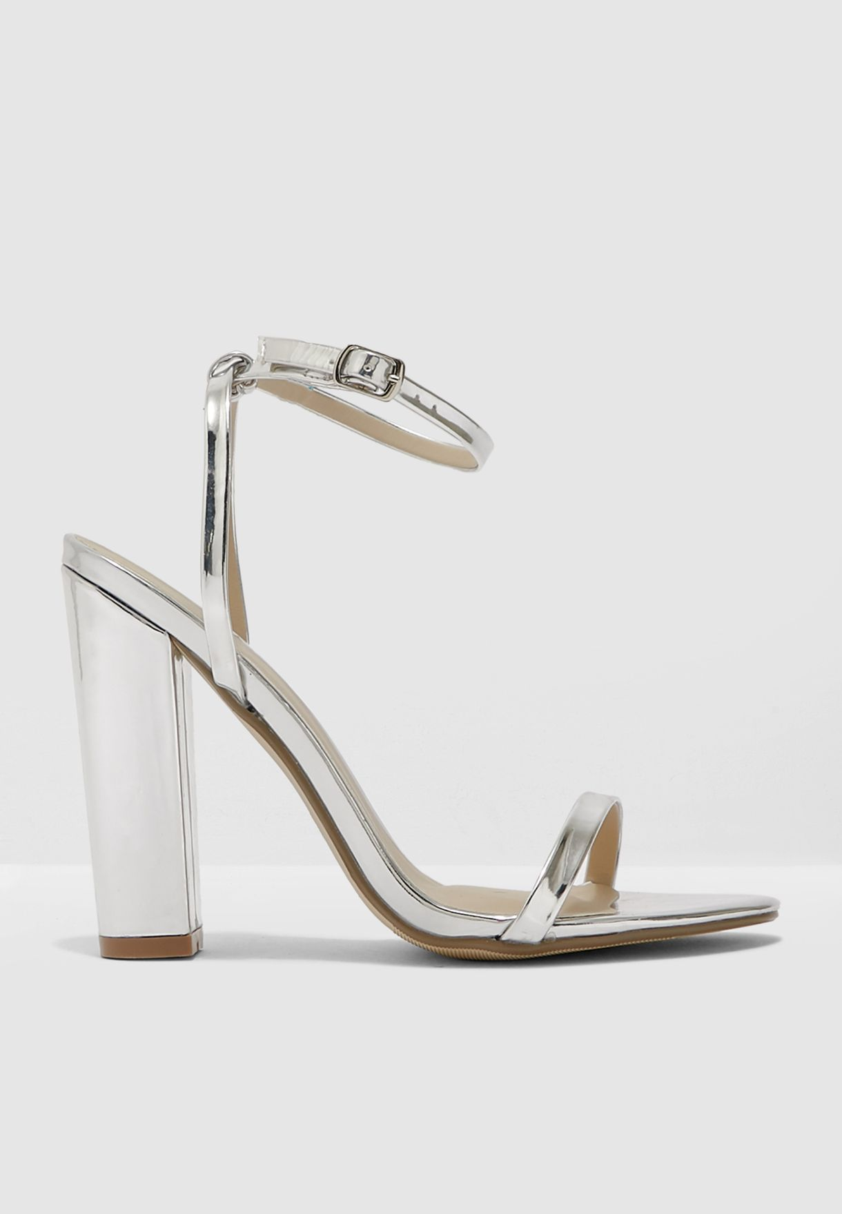 Entry Block Heeled Sandal