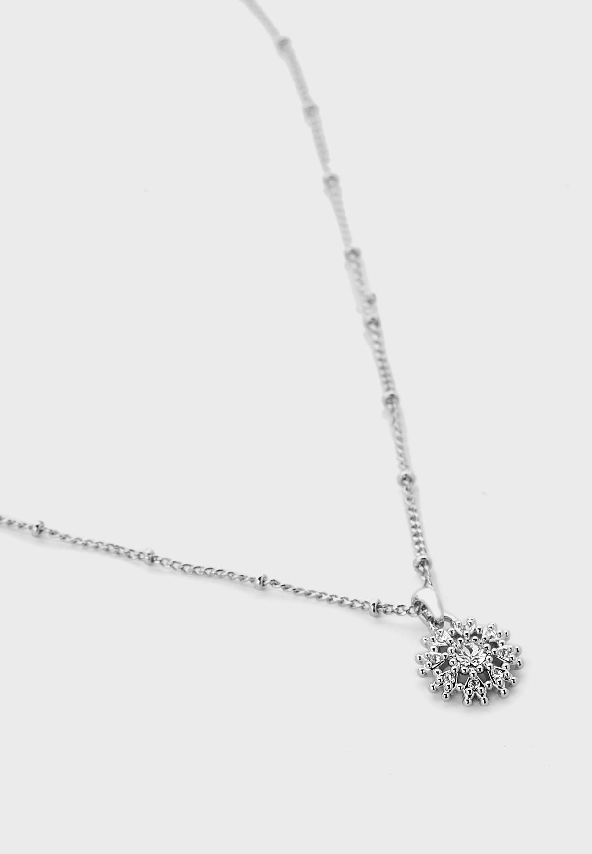 Lusha Love Blossom Pendant Necklace