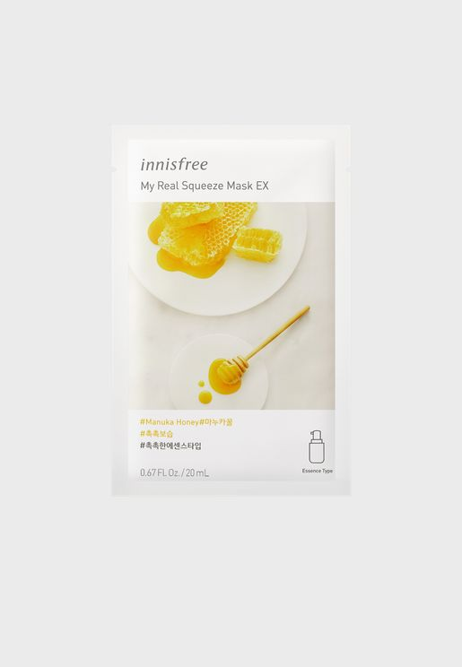 My Real Squeeze Mask [Manuka Honey] 20ml