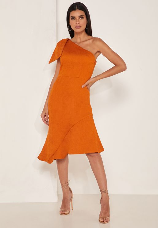 Fontana Asymmetric One Shoulder Dress