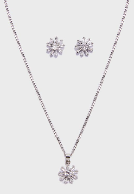 Finchley Tone Necklace+Earrings