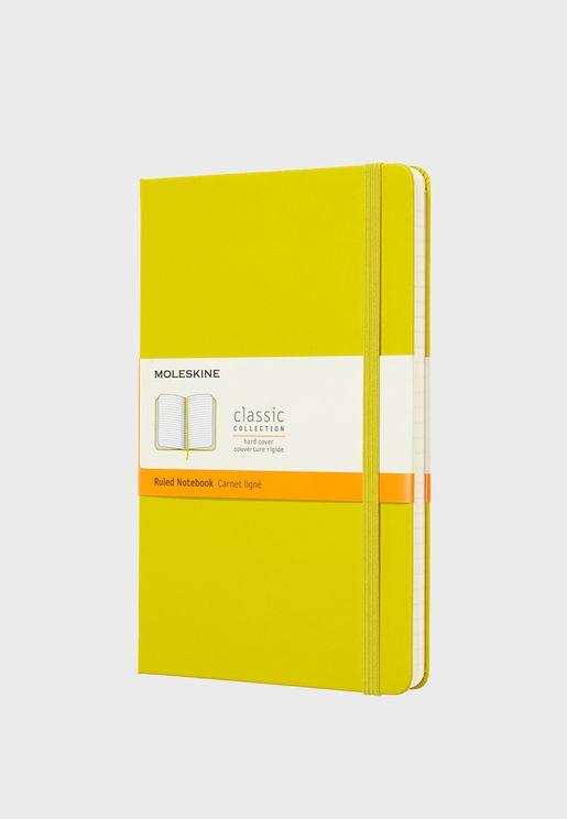 Large Ruled Dandelion Hard Cover Notebook