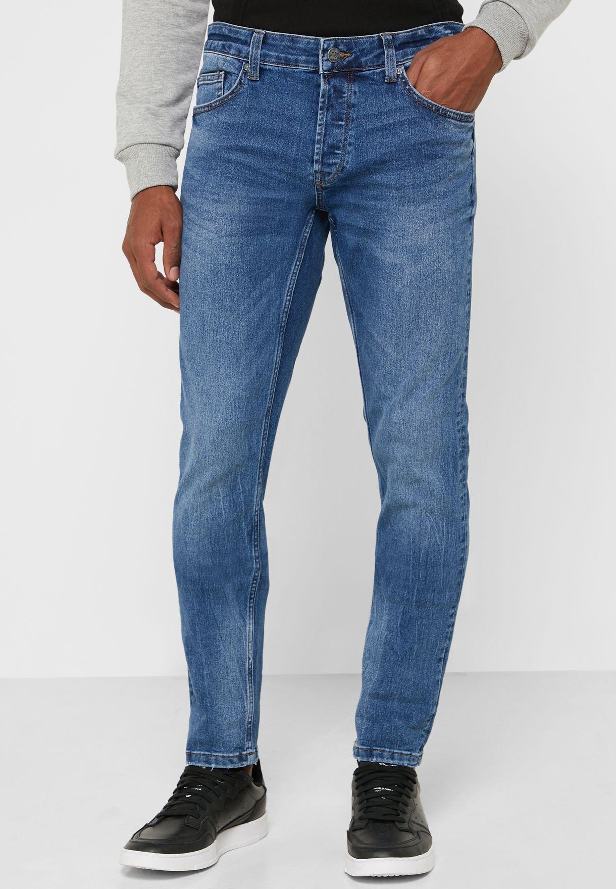 Loom Mid Wash Slim Fit Jeans