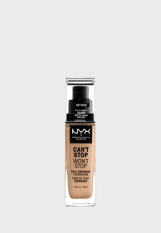 Cant Stop Wont Stop 24Hr Foundation- Soft Beige