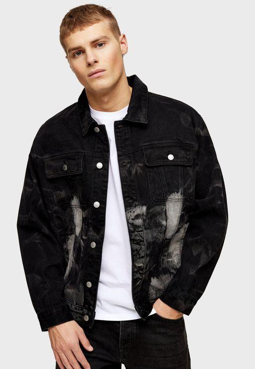 Marble Trucker Jacket