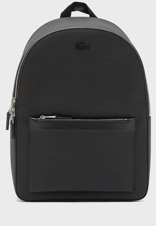 Chantaco Matte Stitched Leather Backpack