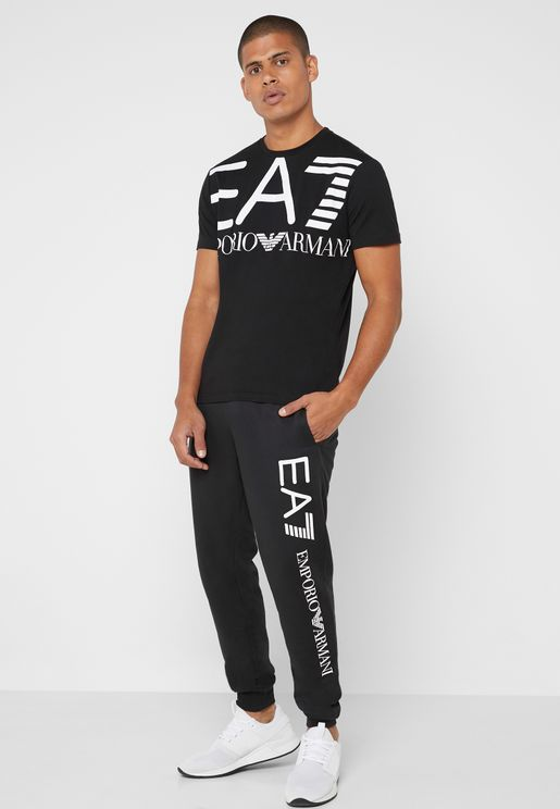 Logo Cuffed Sweatpants