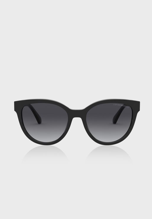 0EA4140 Square Sunglasses