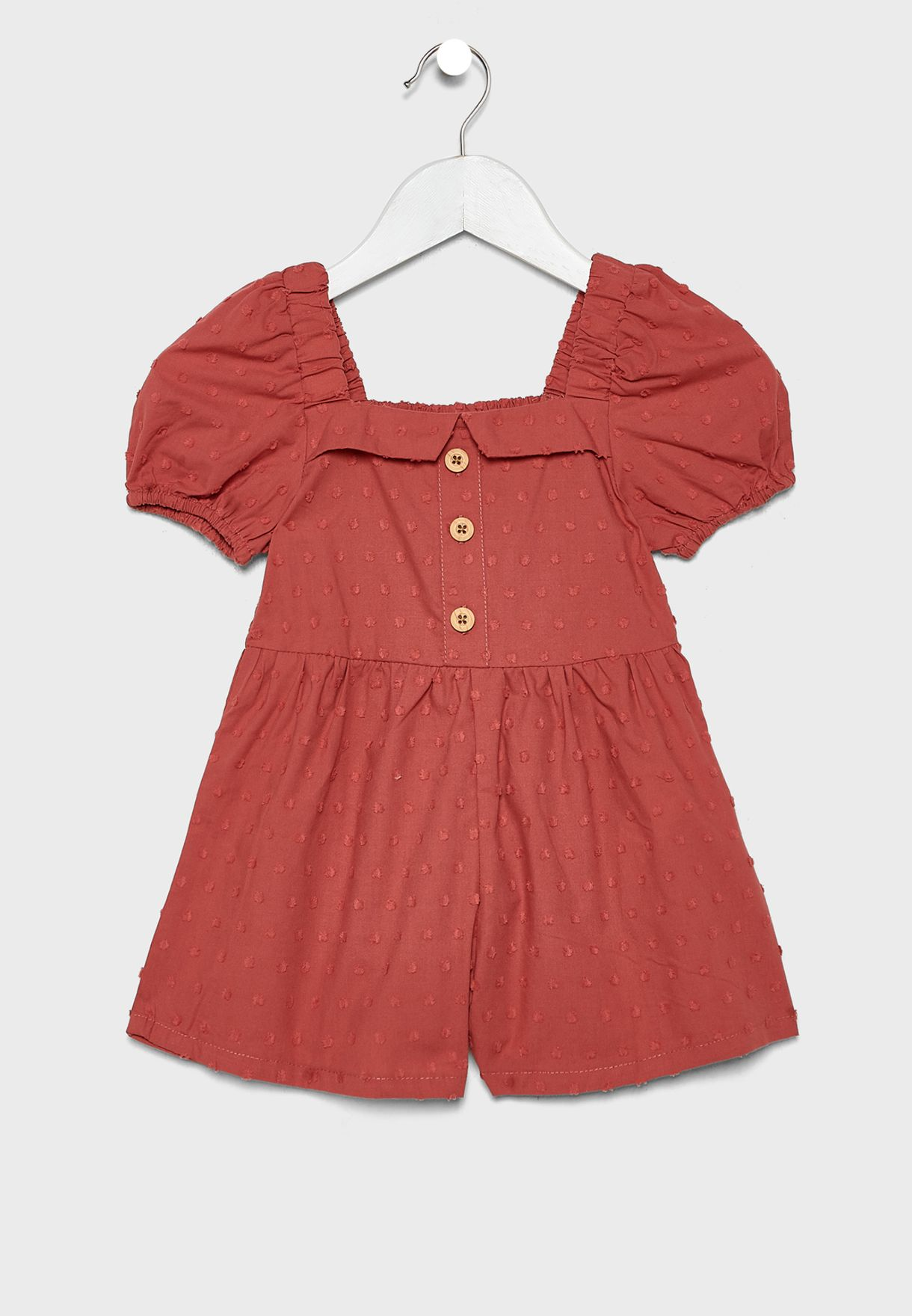 Kids Ruffle Sleeve Playsuit