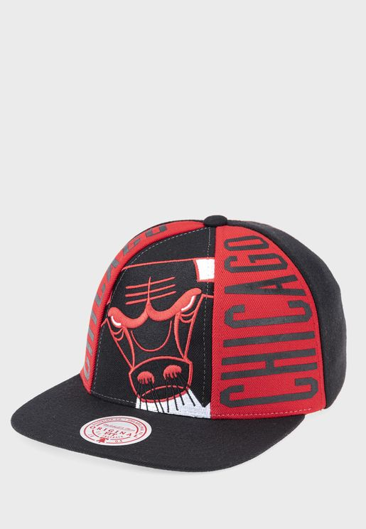 Chicago Bulls Big Face Callout Cap