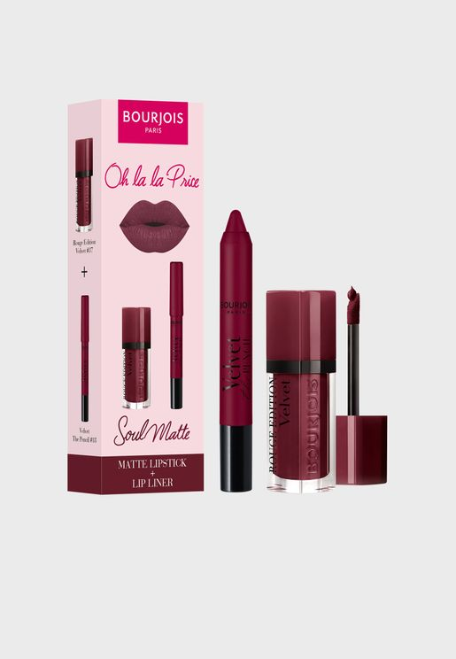 Soul Matte Ultra-violette Lip Duo, Savings 25%
