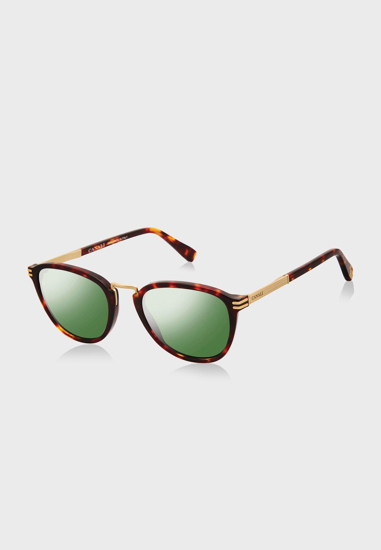 L CO20901 Round Sunglasses